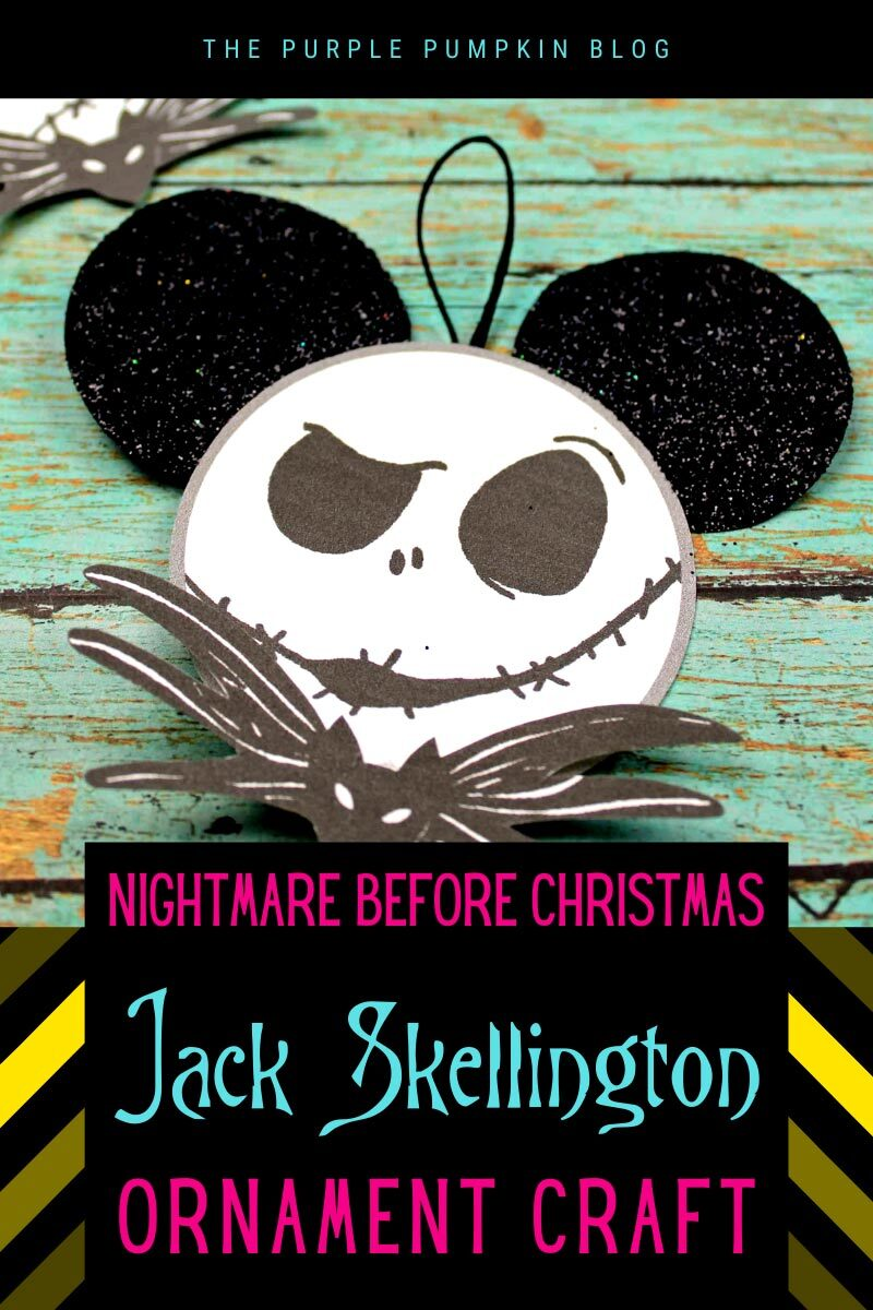 NBC Jack Skellington Ornament Craft