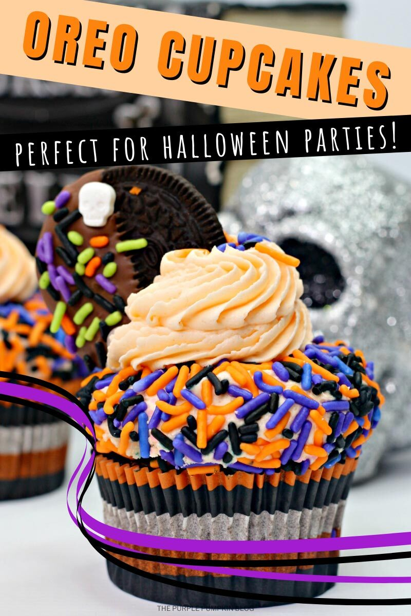 Oreo Cupcakes - Perfect for Halloween Parties