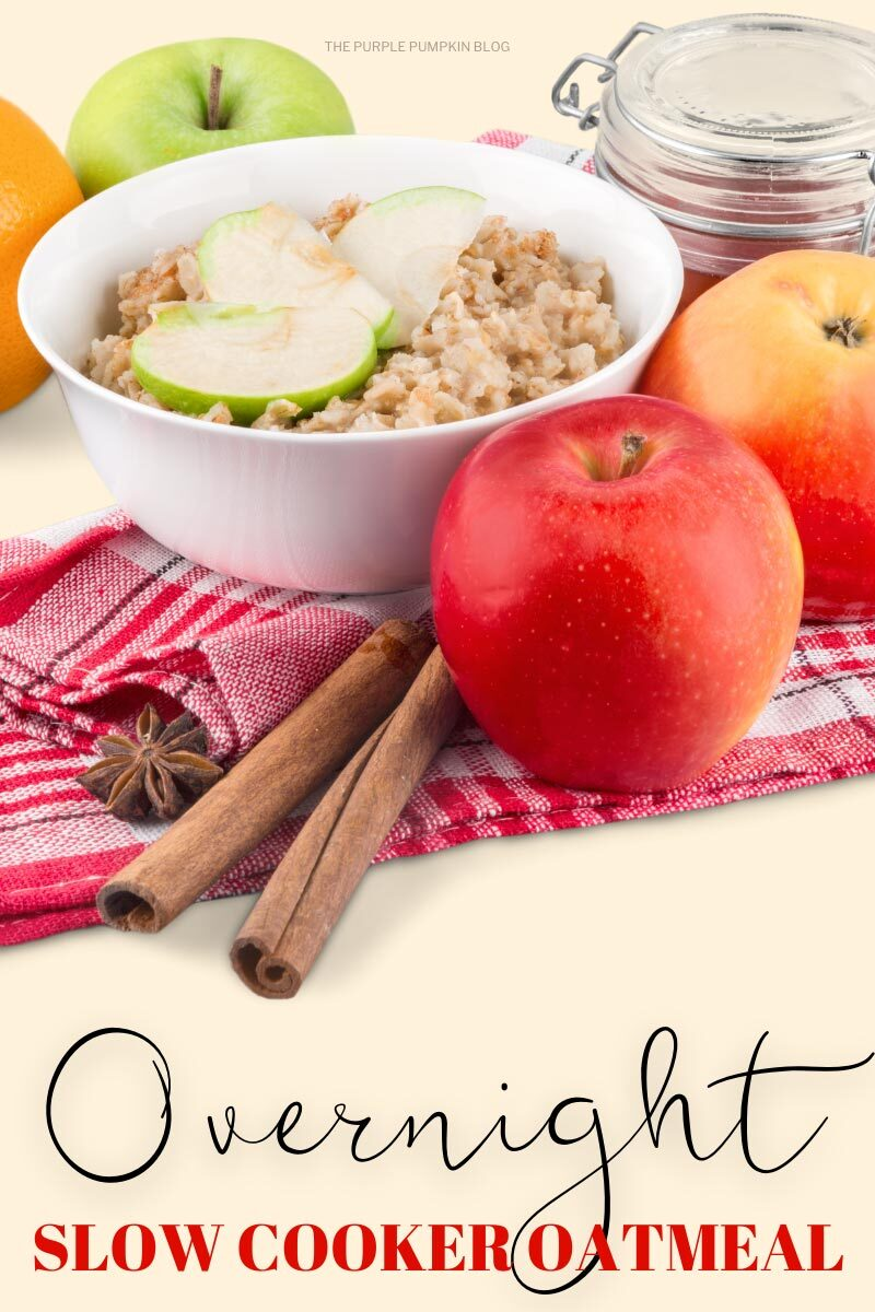 Overnight Slow Cooker Oatmeal