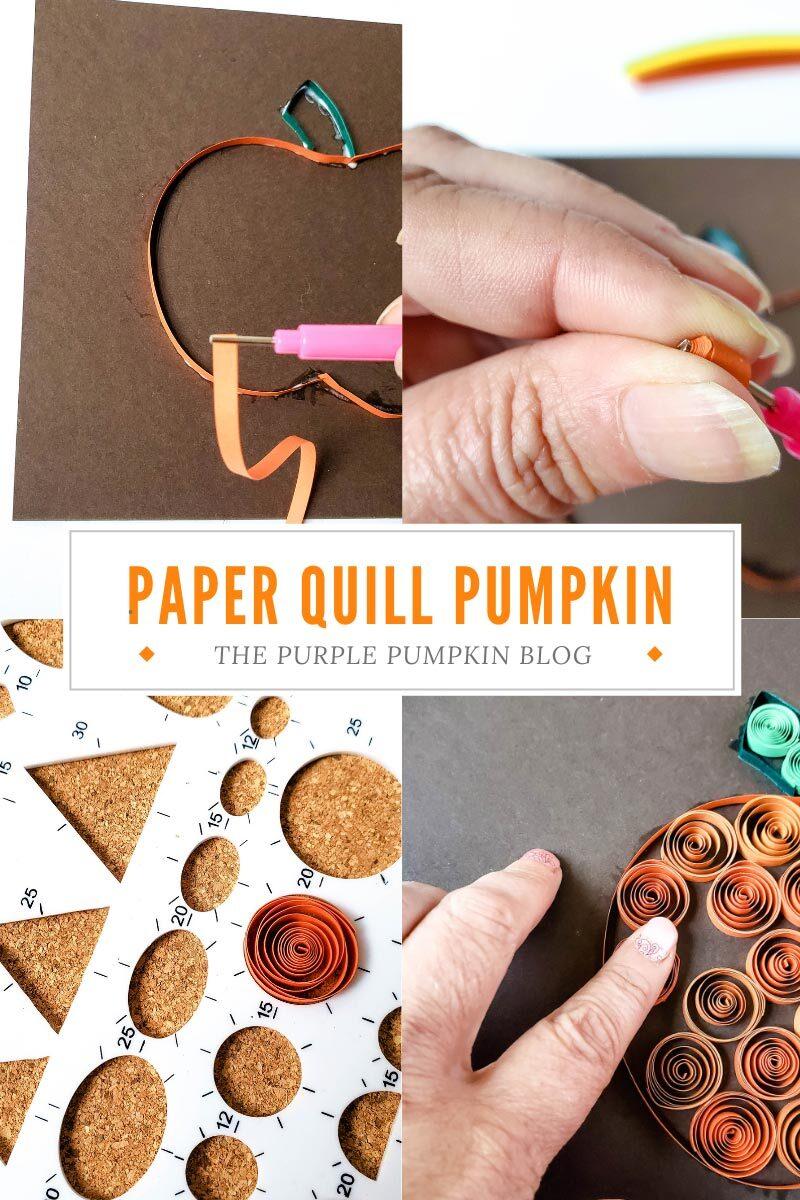 Paper Quill Pumpkin