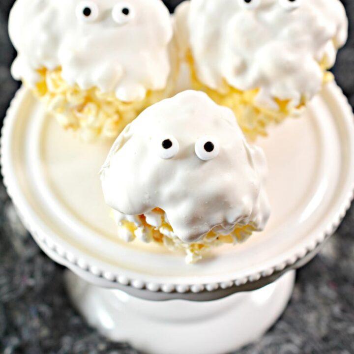 Popcorn Ghost Treats
