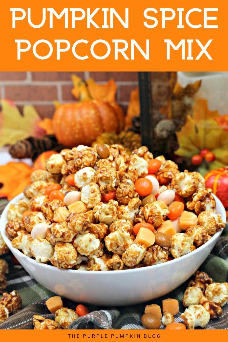Pumpkin Spice Popcorn mix