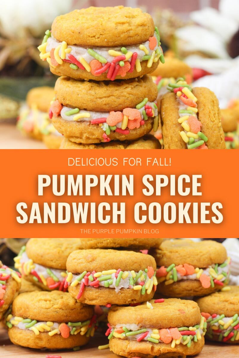 Pumpkin Spice Sandwich Cookies Recipe