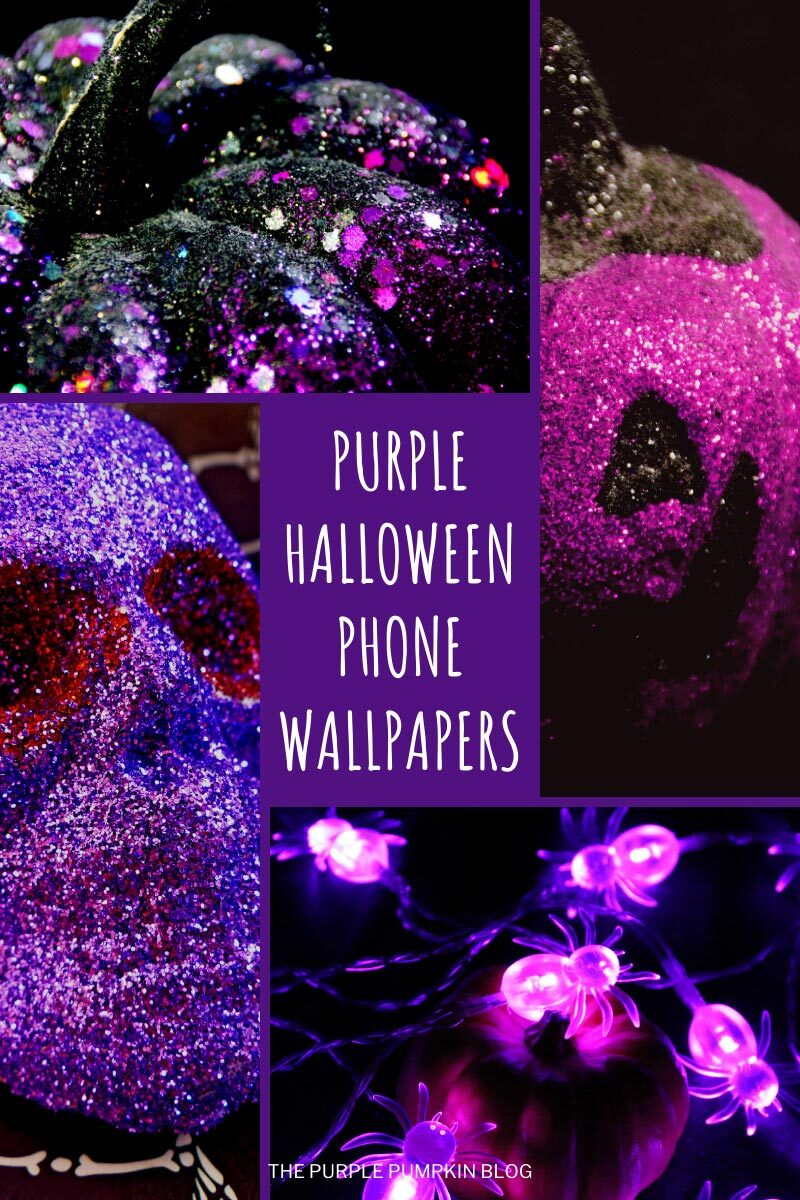 Purple Halloween Iphone Wallpaper To Download For Free