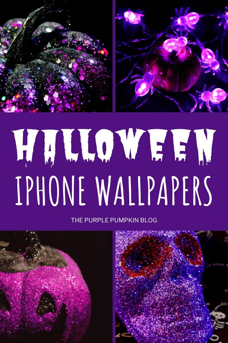 Purple Halloween iPhone Wallpapers