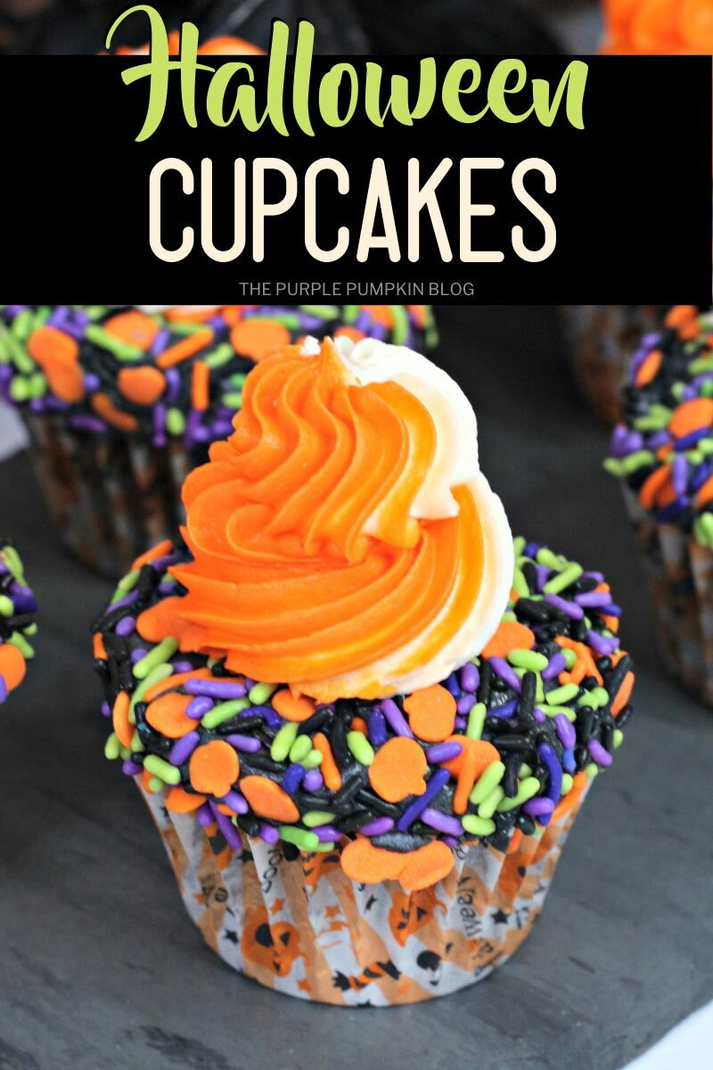 Recipe for Halloween Cupcakes