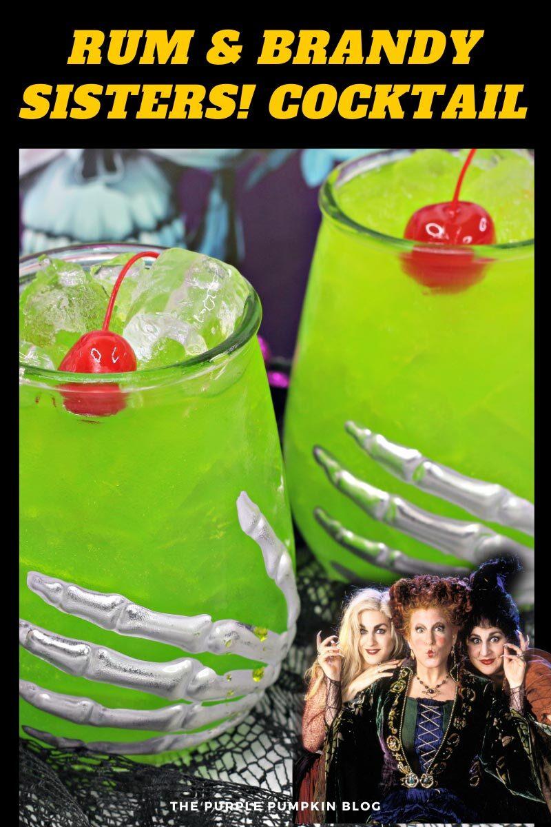 Rum & Brandy Sisters! Cocktail