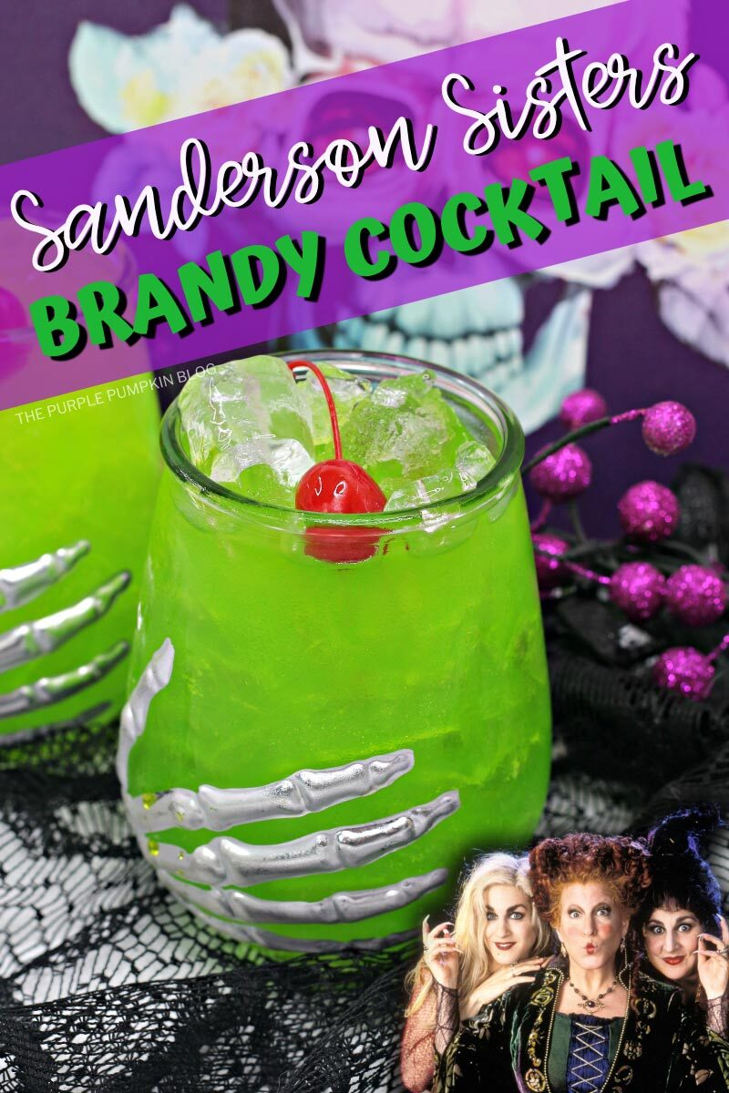 Sanderson Sisters Brandy Cocktail