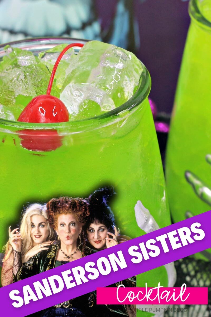 Sanderson Sisters Cocktail