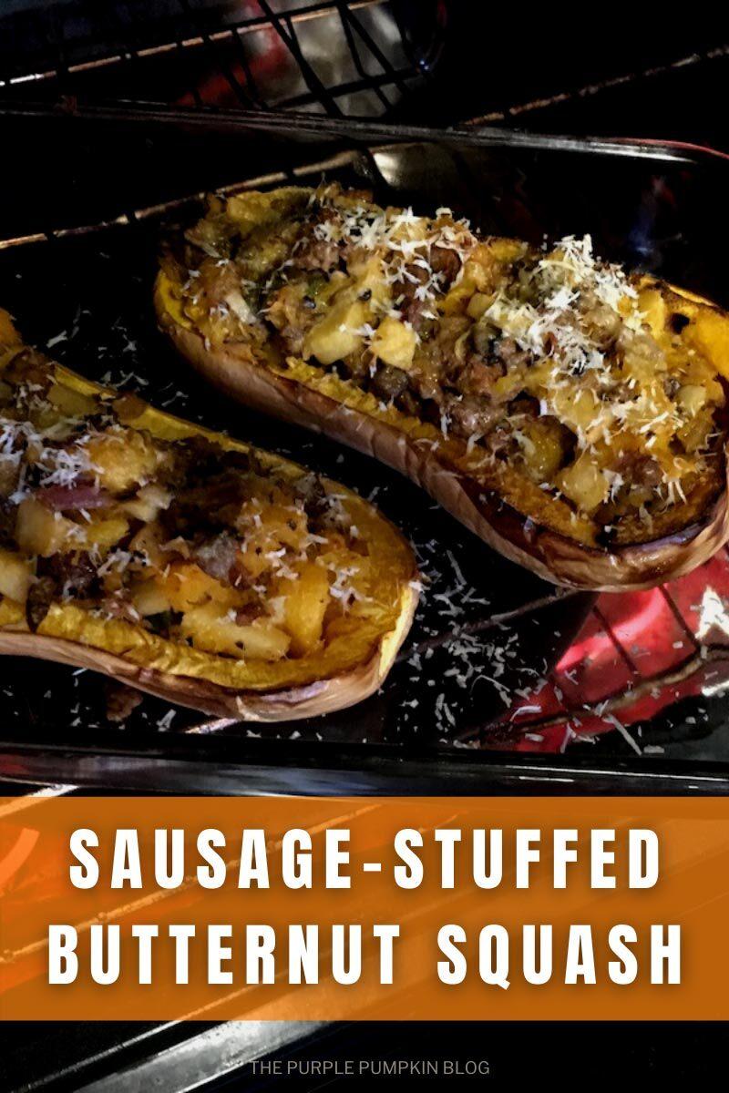 Sausage-Stuffed Butternut Squash