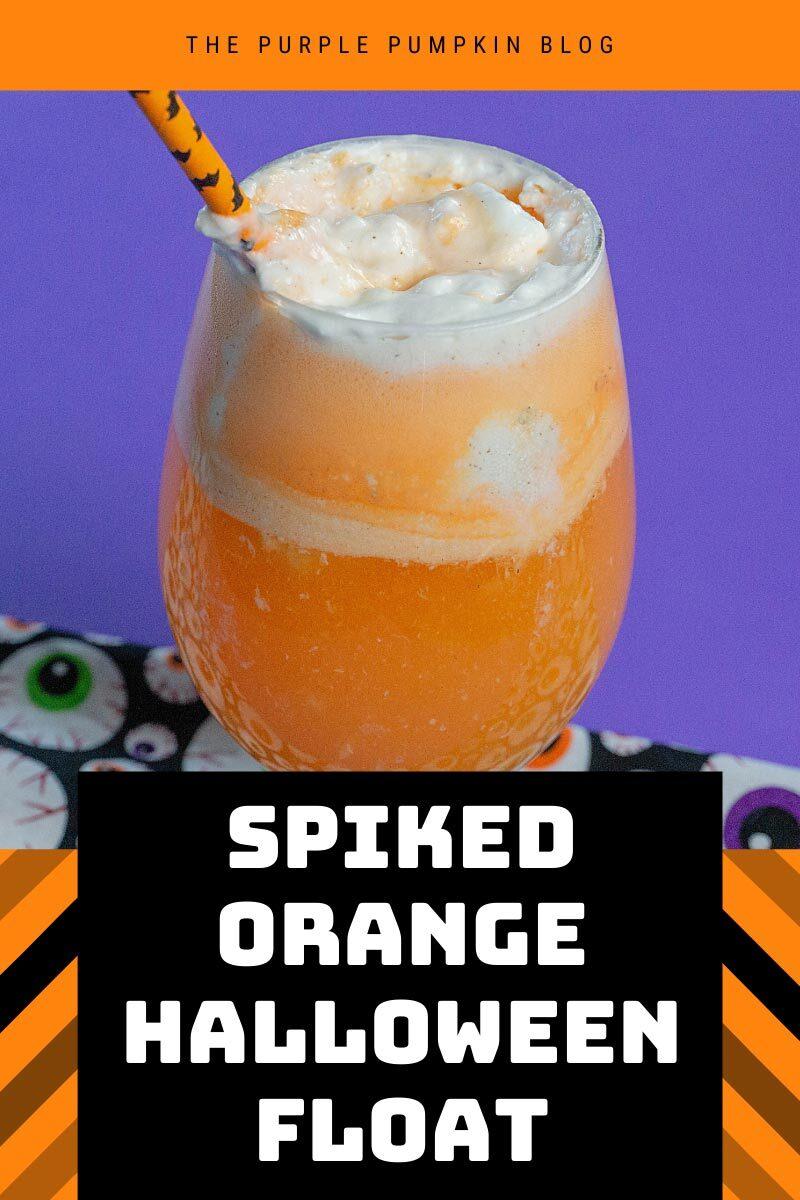 Spiked Orange Halloween Float