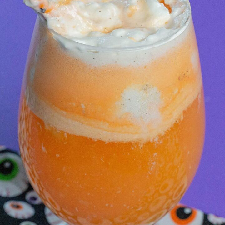 Spiked Ice Cream Float Cocktail