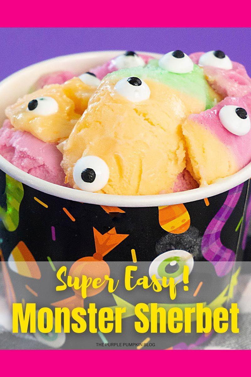 Super Easy Monster Sherbet