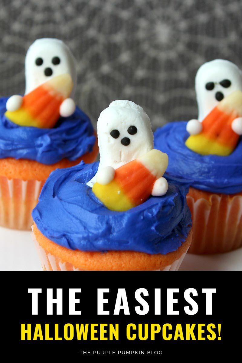 The Easiest Halloween Cupcakes