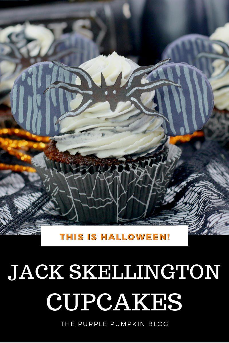 This is Halloween! Jack Skellington Cupcakes