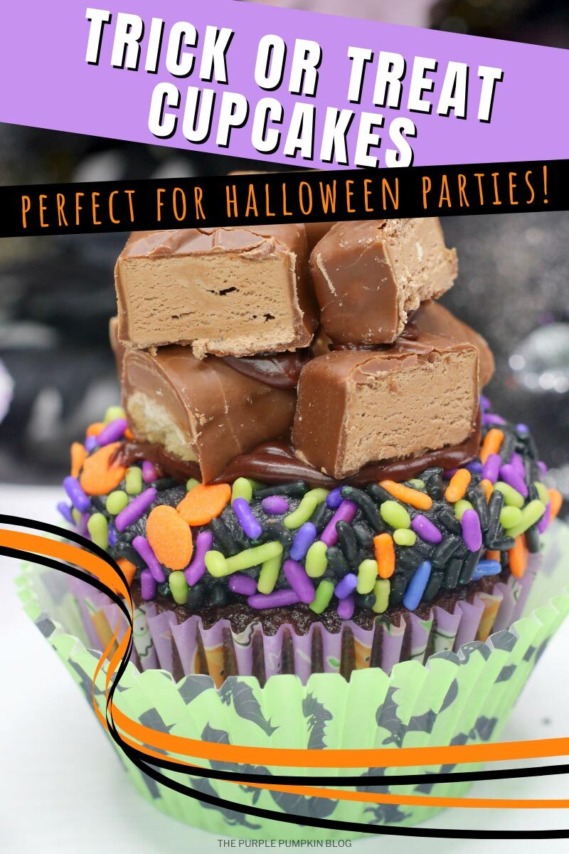 Trick or Treat Cupcakes- Perfect for Halloween Parties!