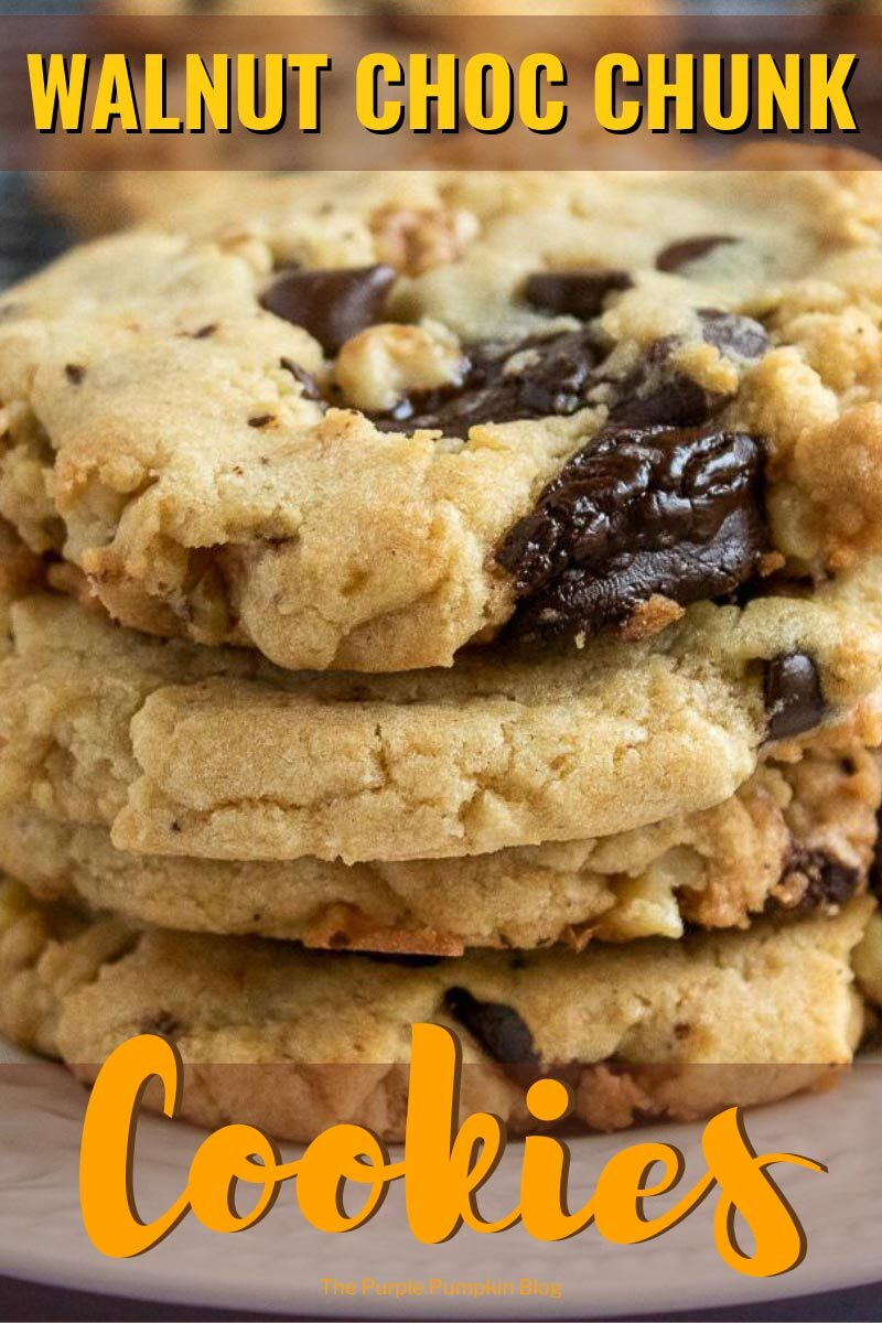 Walnut Choc Chunk Cookies