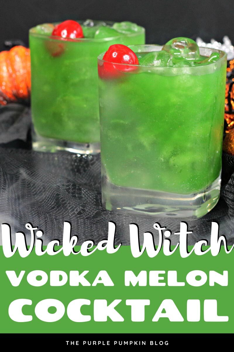 Wicked Witch Vodka Melon Cocktail
