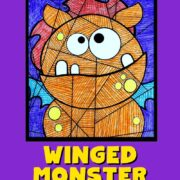 Winged-Monster-Coloring-Sheet