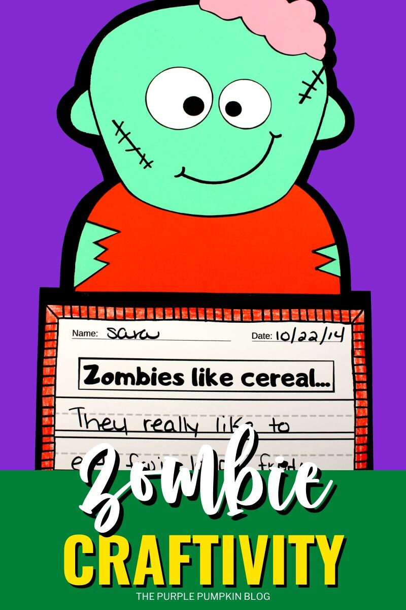 Zombie Craftivity