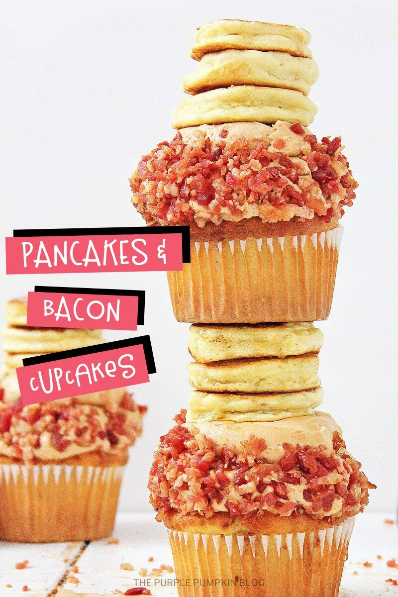Bacon and Pancakes Cupcakes
