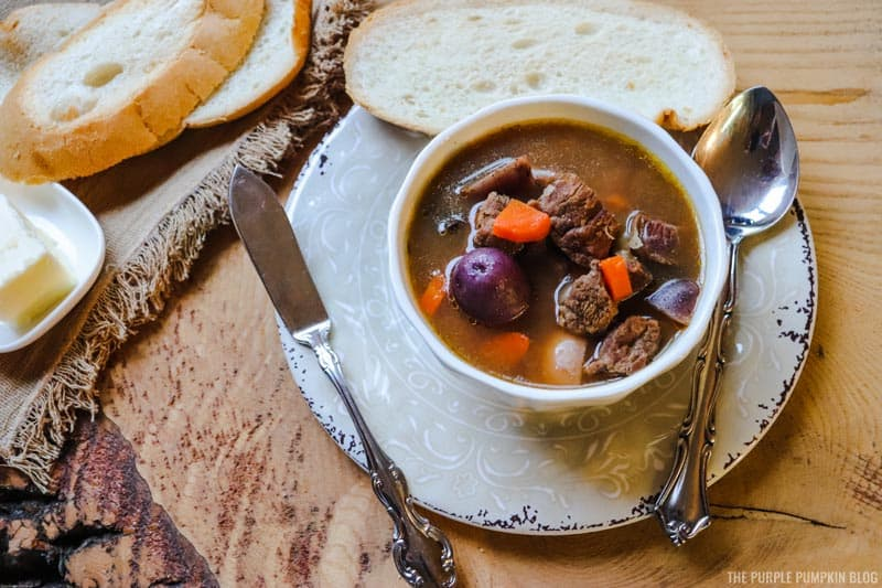 Beef Stew with Crusty Bread