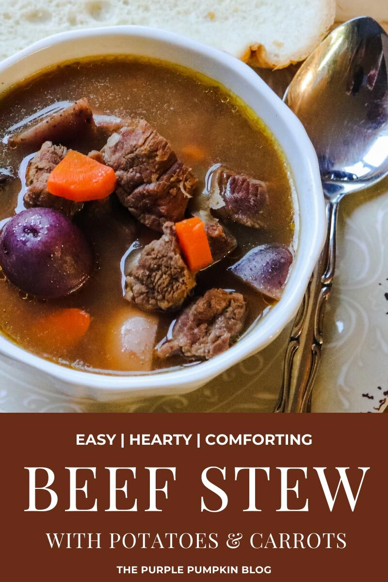 Beef Stew with Potatoes & Carrots