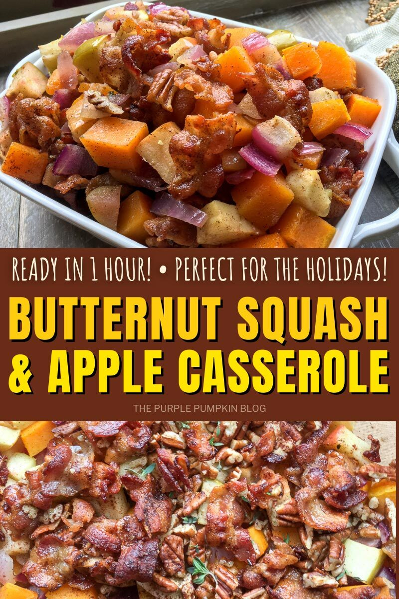 Butternut Squash & Apple Casserole - Perfect for the Holidays