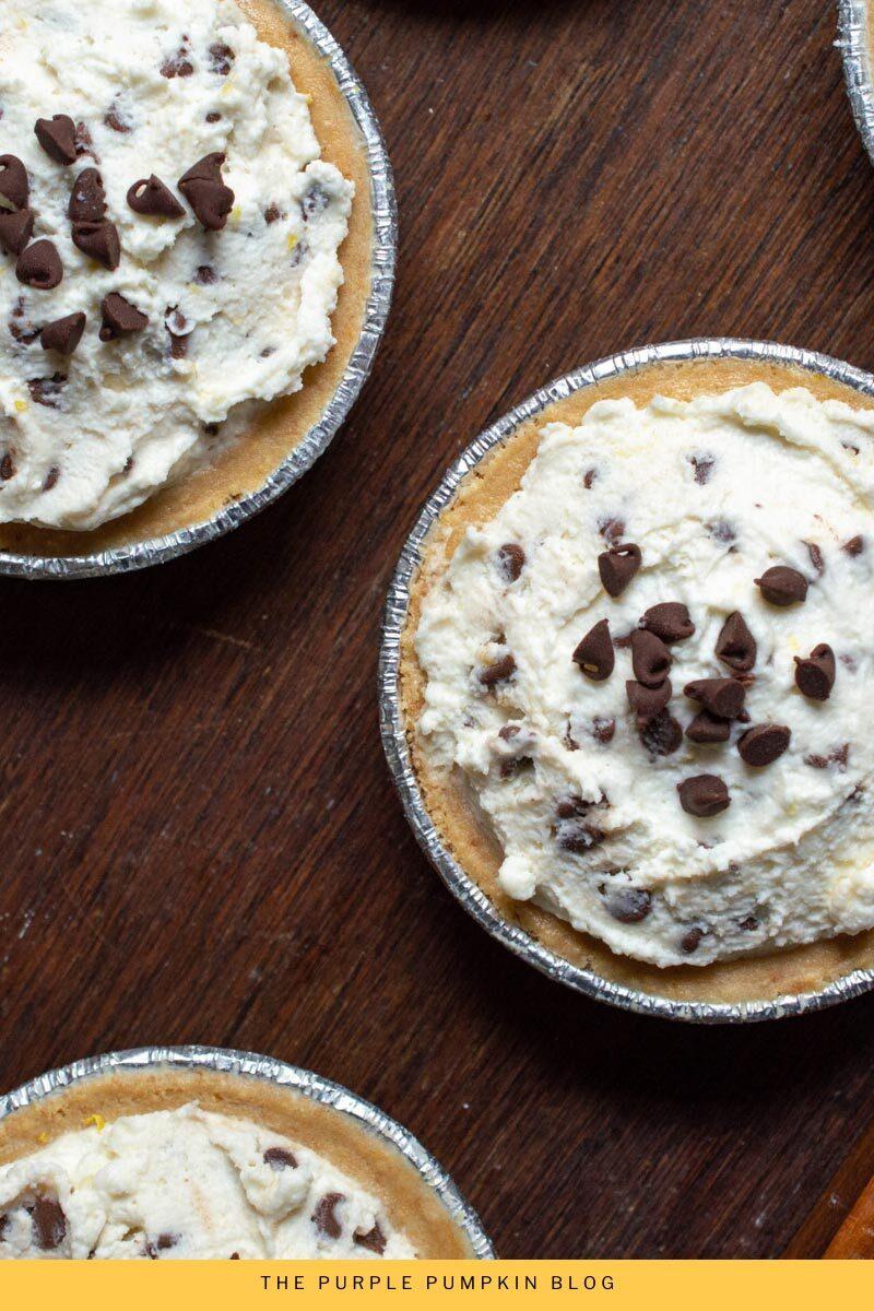 Cannoli Pies No-Bake Recipe