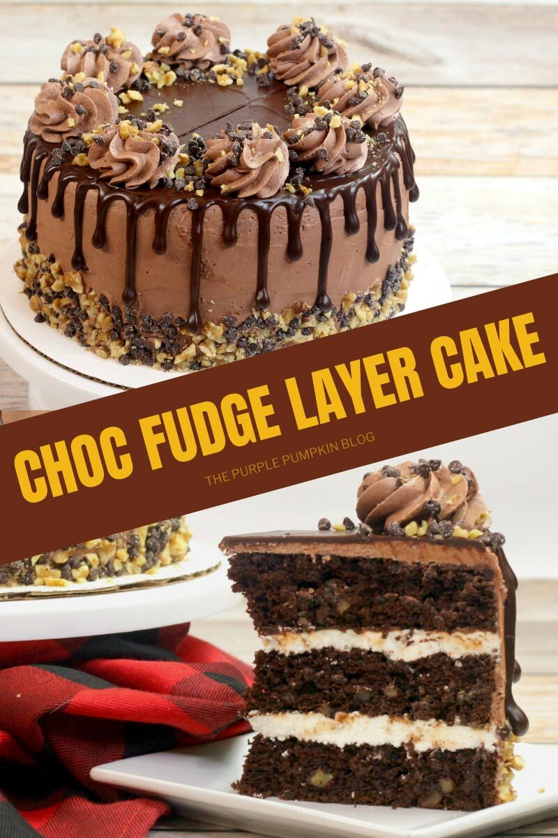 Choc Fudge Layer Cake Recipe