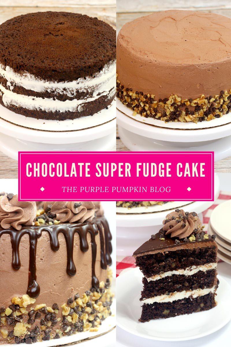 Chocolate Super Fudge Cake