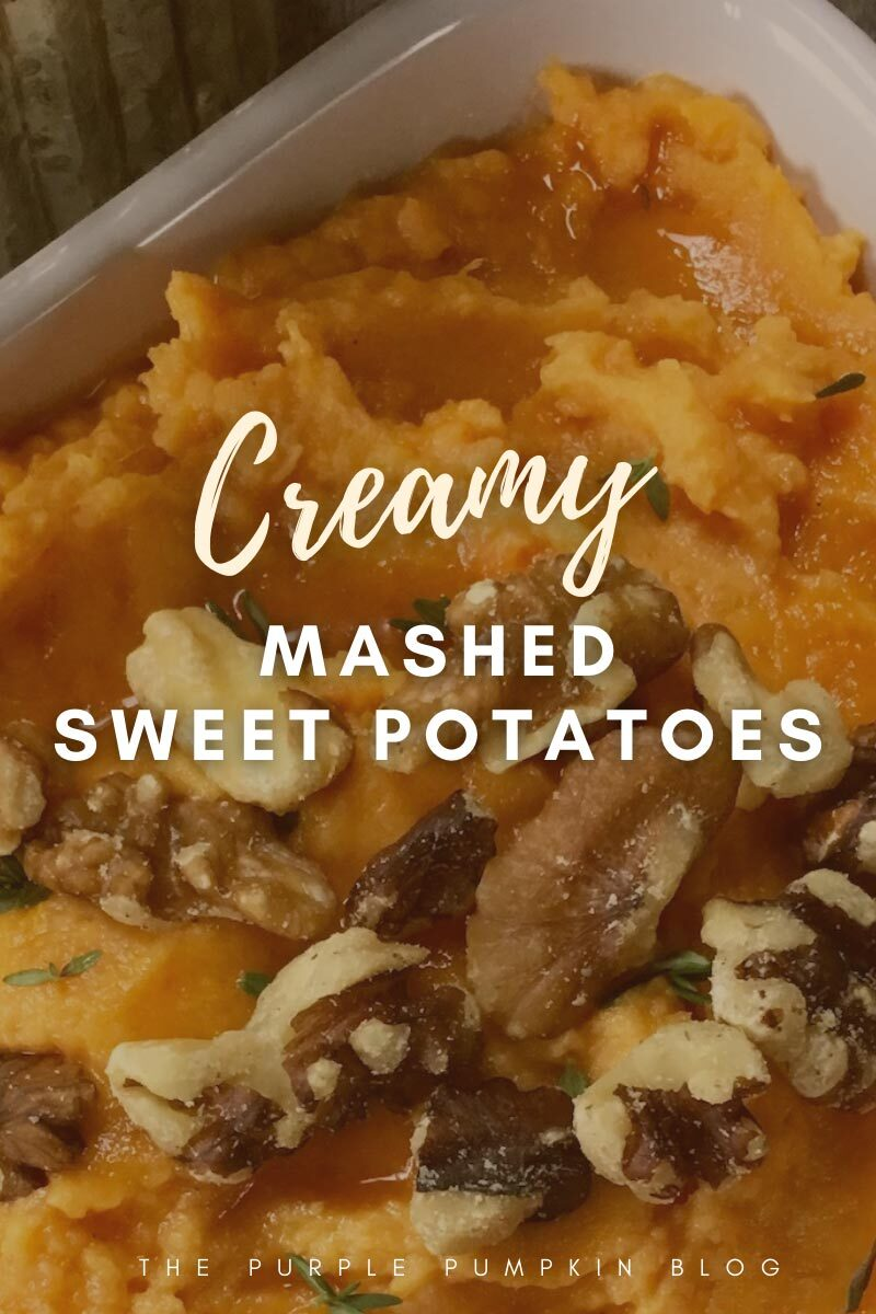 Creamy Mashed Sweet Potatoes
