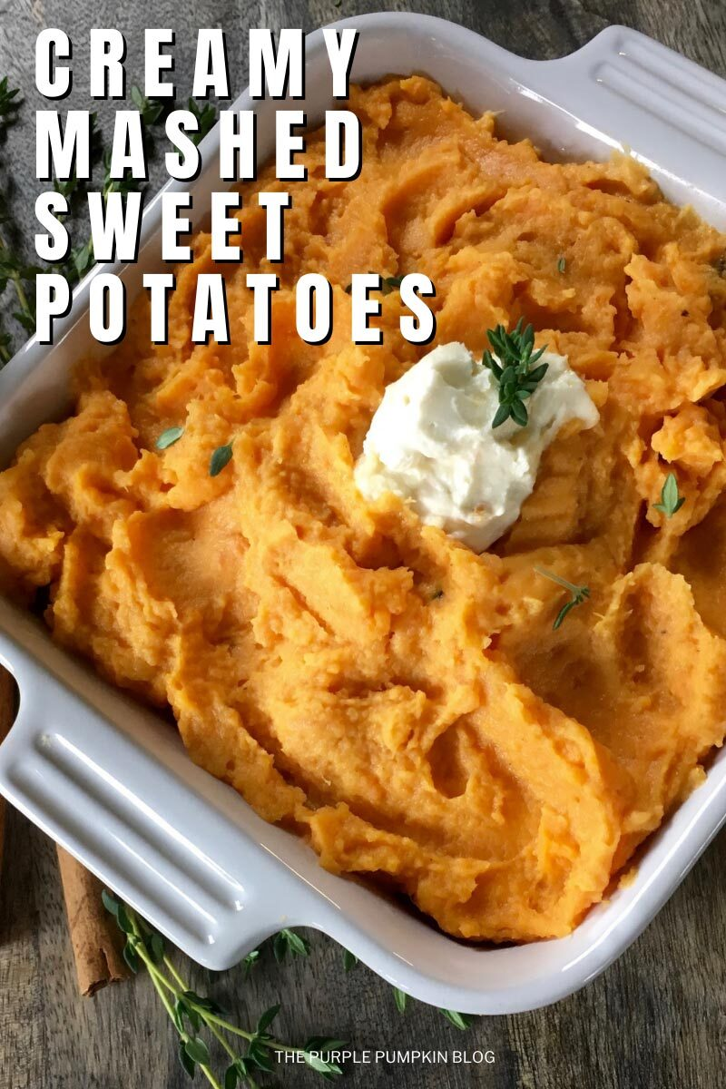 Creamy Mashed Sweet Potatoes Recipe