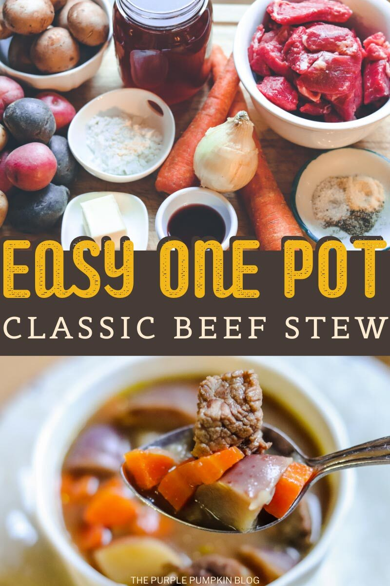 Easy One Pot Classic Beef Stew
