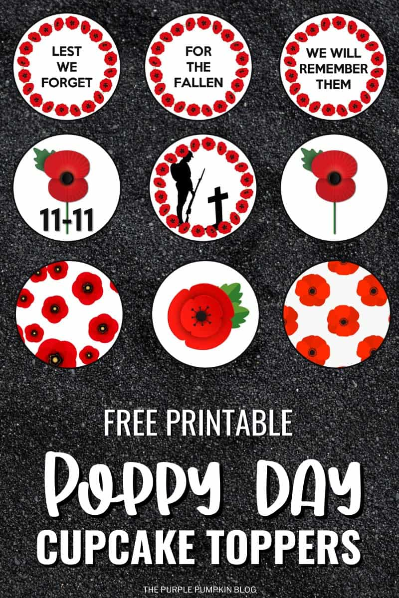 Free-Printable-Poppy-Day-Cupcake-Toppers