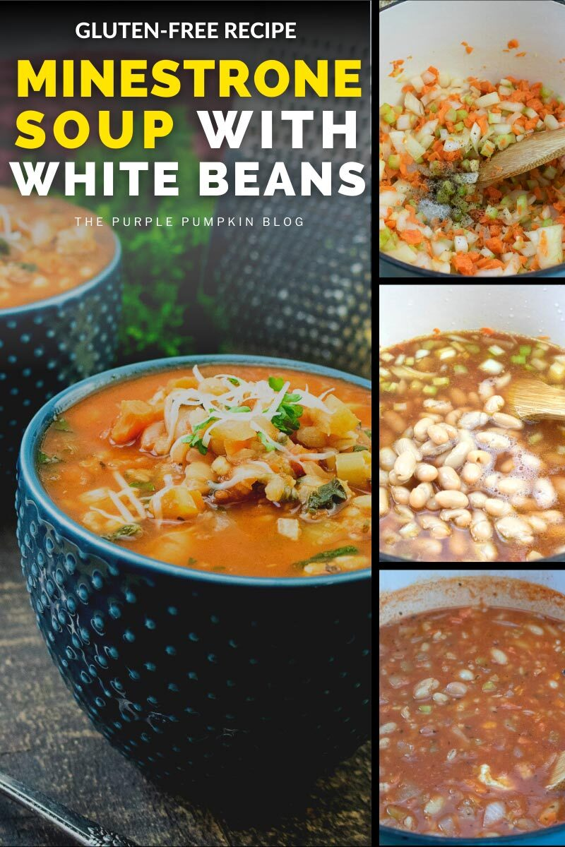 Gluten-Free Recipe for Minestrone Soup with White Beans