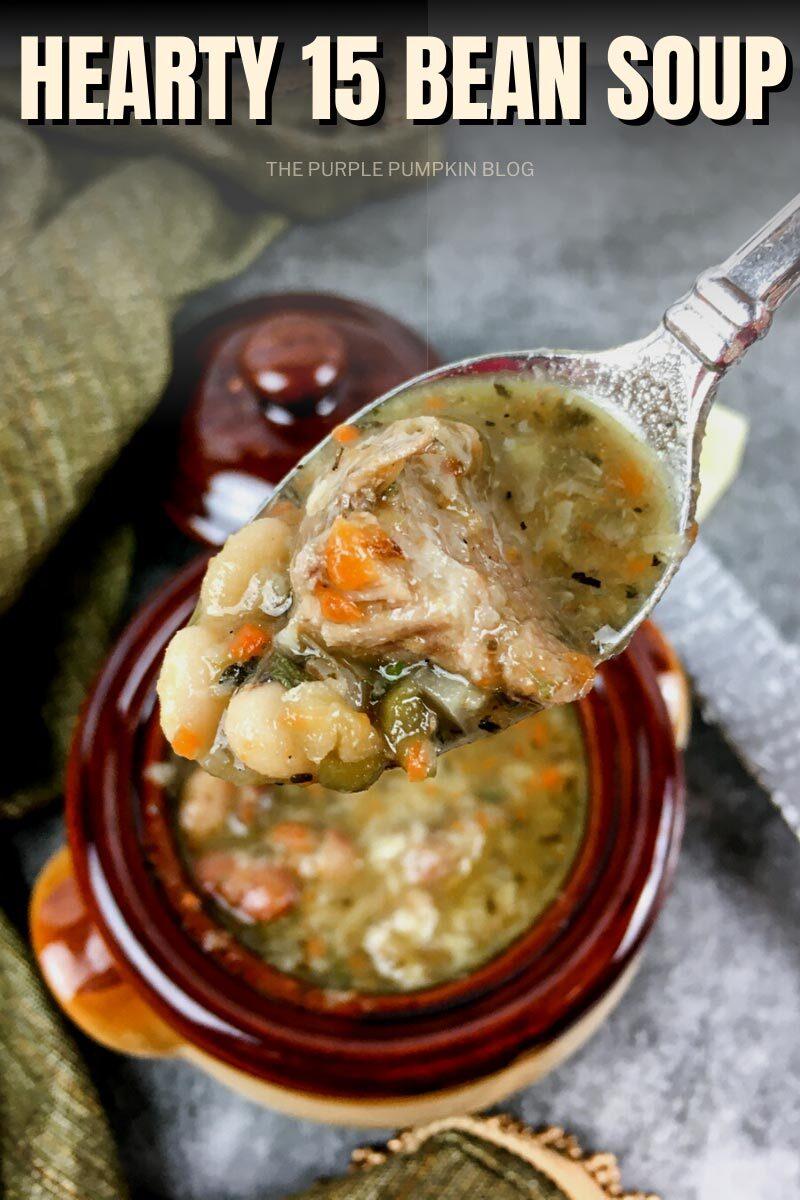 Hearty 15 Bean Soup