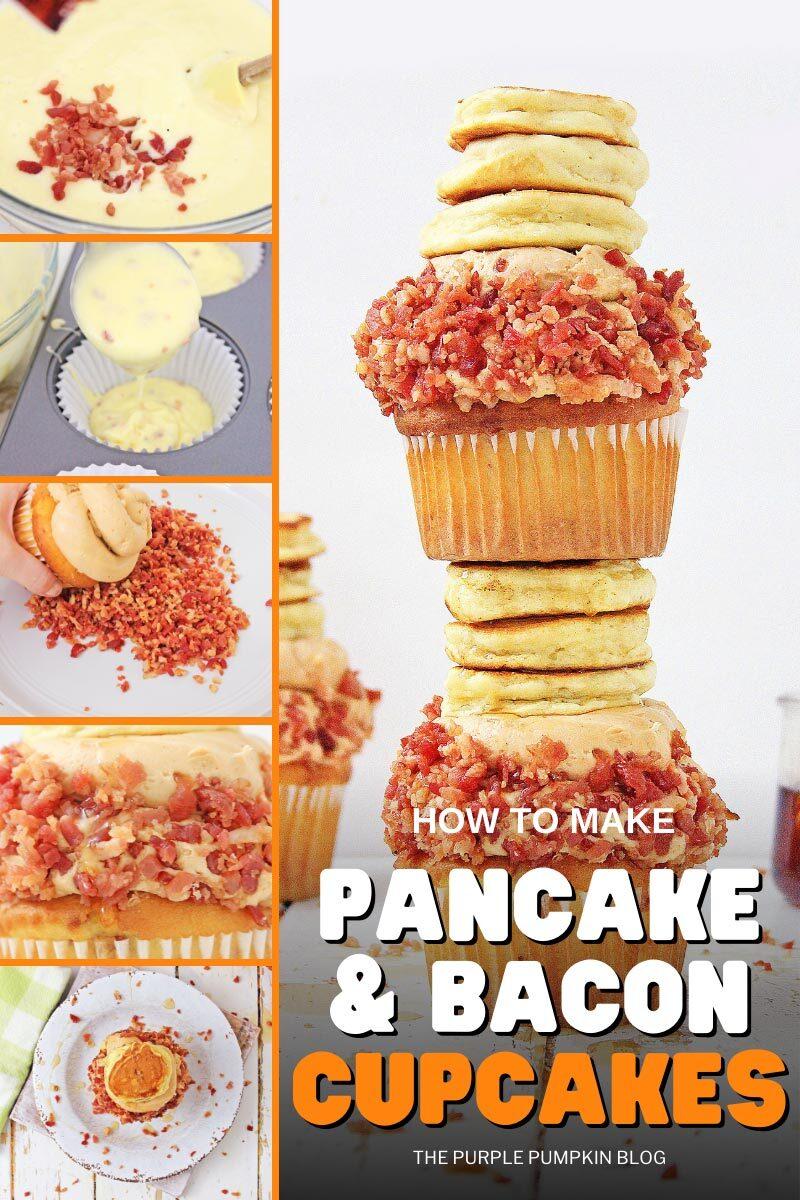 How to Make Pancake & Bacon Cupcakes