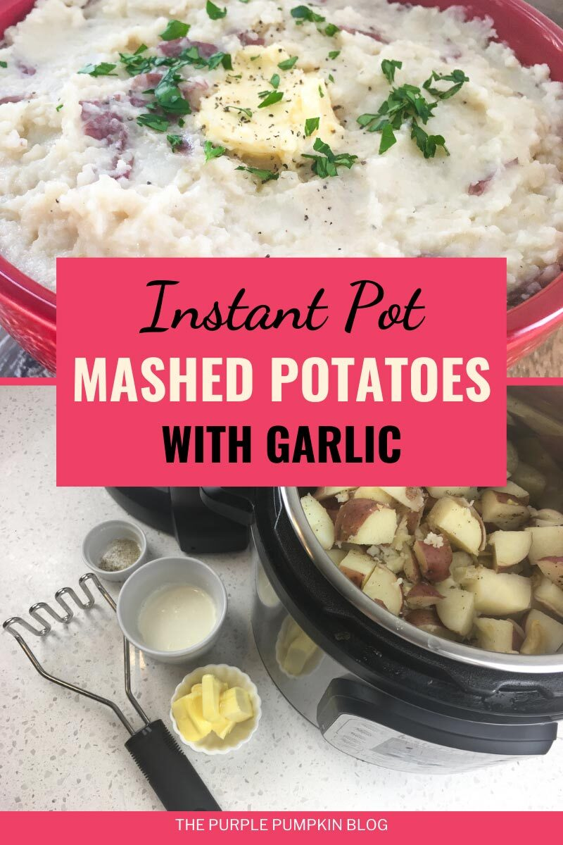 Instant Pot Mashed Potatoes with Garlic