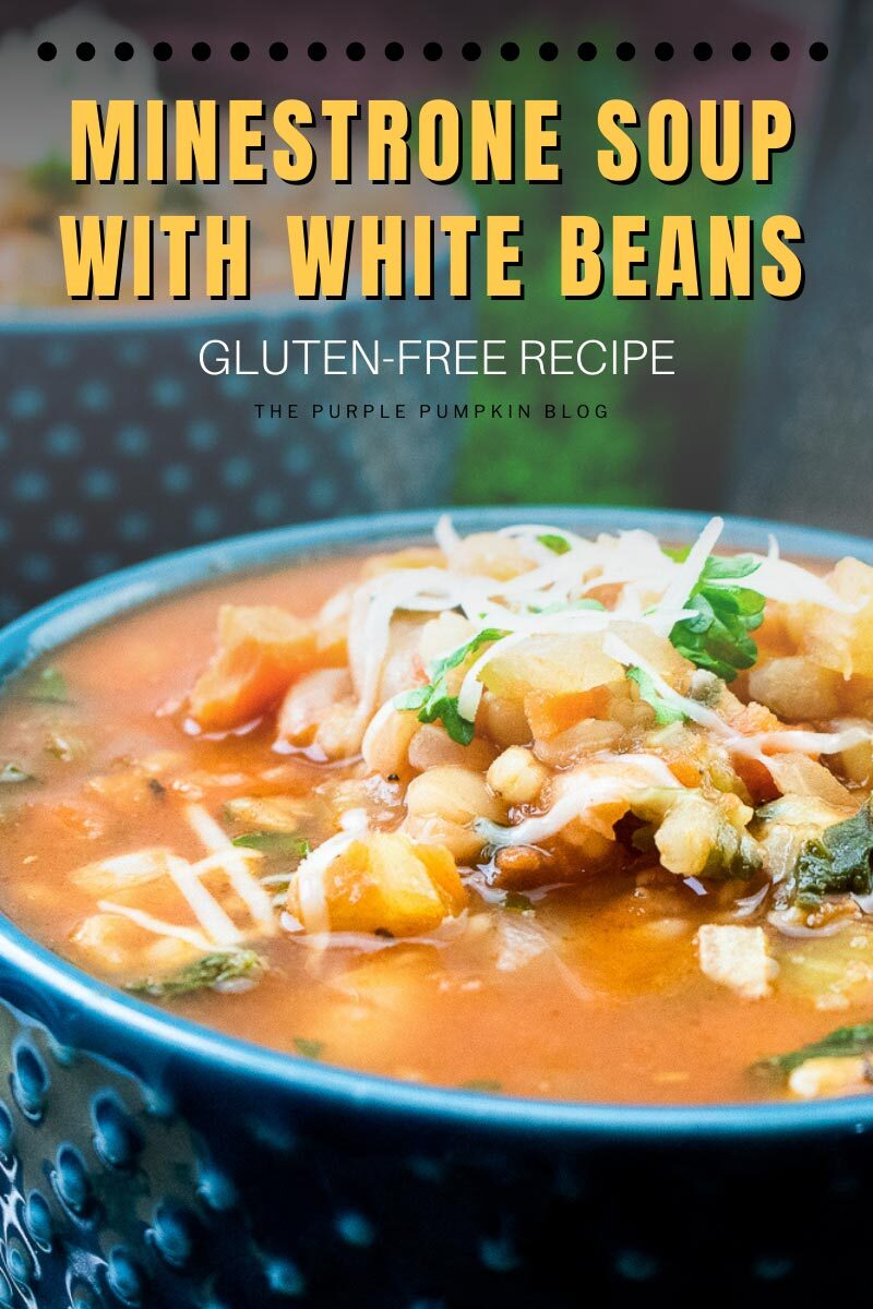 Minestrone Soup with White Beans Gluten-Free Recipe