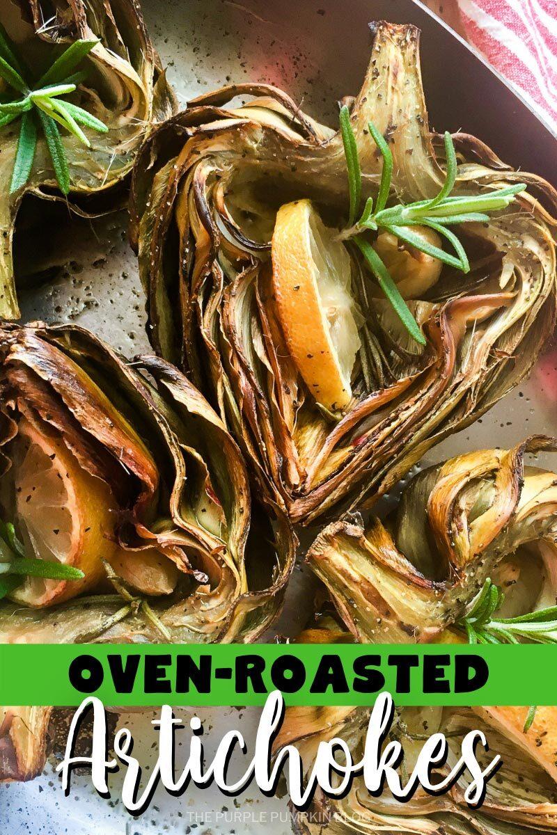 Oven-Roasted Artichokes