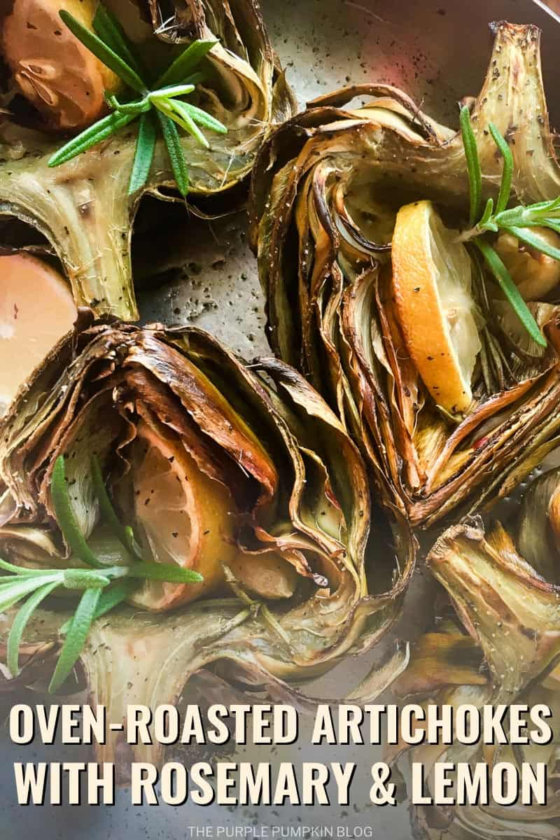 Oven-Roasted Artichokes with Rosemary & Lemon