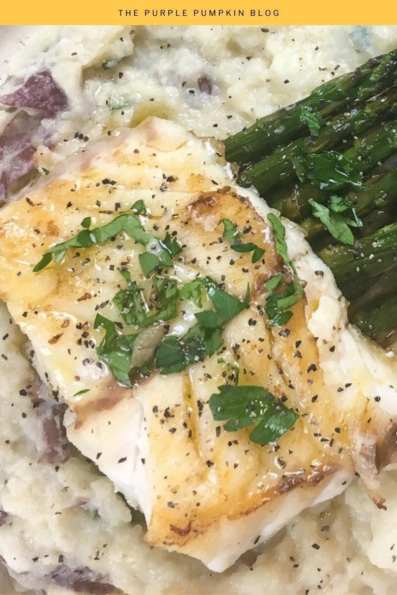 Pan-Seared White Fish with Lime Butter Sauce Recipe