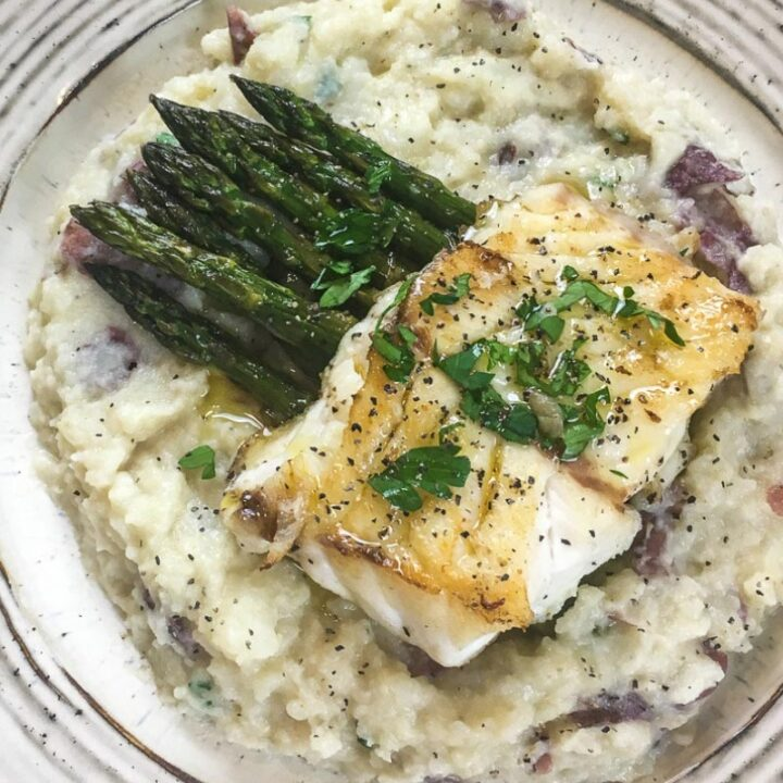 Pan-Seared Fish with Lime Butter Sauce