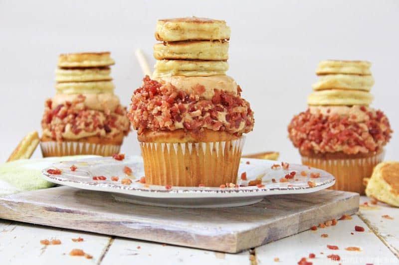 Pancake & Bacon Cupcakes