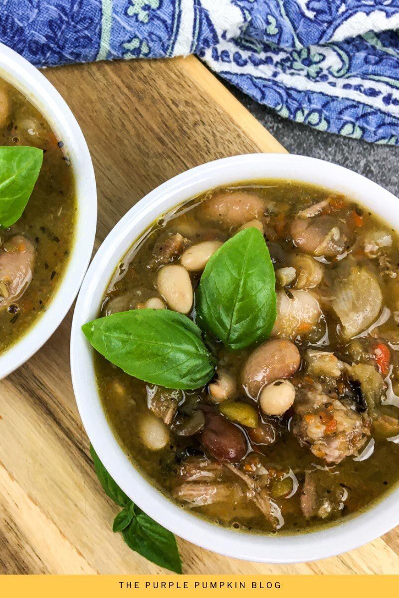 Pork & Beans Soup