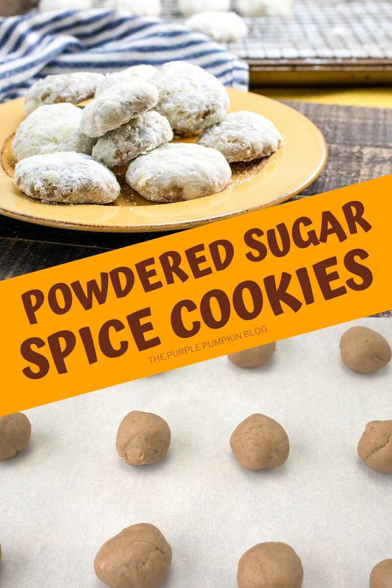 Powdered Sugar Spice Cookies