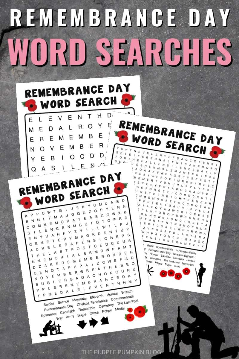 Remembrance-Day-Word-Searches