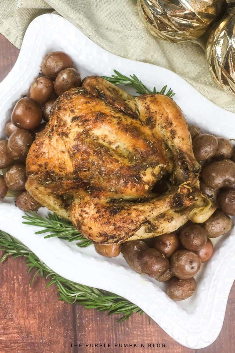 Roast Lemon Pepper Chicken Recipe