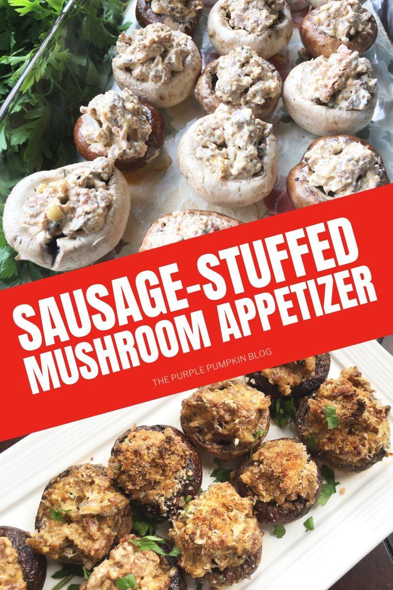 Sausage-Stuffed Mushroom Appetizer